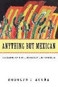 Cover-Bild zu Anything But Mexican von Acuna, Rodolfo