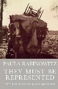 Cover-Bild zu They Must be Represented von Rabinowitz, Paula