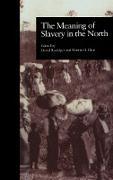 Cover-Bild zu The Meaning of Slavery in the North (eBook) von Blatt, Martin H. (Hrsg.)