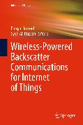 Cover-Bild zu Wireless-Powered Backscatter Communications for Internet of Things (eBook) von Hassan, Syed Ali (Hrsg.)