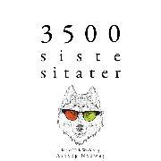 Cover-Bild zu 3500 siste sitater (Audio Download) von Austen, Jane