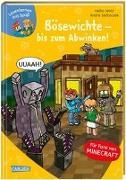 Cover-Bild zu Lesenlernen mit Spaß - Minecraft 5: Bösewichte - bis zum Abwinken! von Wolz, Heiko