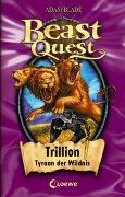 Cover-Bild zu Beast Quest 12 - Trillion, Tyrann der Wildnis von Blade, Adam