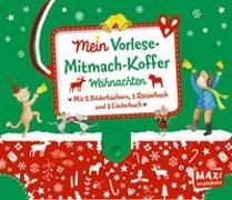 Cover-Bild zu Mein Vorlese-Mitmach-Koffer. Weihnachten von Niessen, Susan