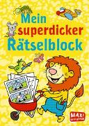 Cover-Bild zu Mein superdicker Rätselblock von Wagner, Charlotte