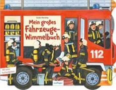 Cover-Bild zu Mein großes Fahrzeuge-Wimmelbuch von Wandrey, Guido (Illustr.)