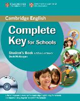 Cover-Bild zu Complete Key for Schools. Student's Book without Answers von McKeegan, David