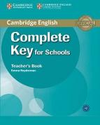 Cover-Bild zu Complete Key for Schools. Teacher's Book von Heyderman, Emma