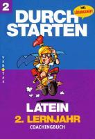Cover-Bild zu Durchstarten Latein Neubearbeitung. 2. Lernjahr. Coachingbuch mit Lösungen von Kautzky, Wolfram