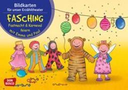 Cover-Bild zu Bildkarten für unser Erzähltheater. Fasching, Fastnacht & Karneval feiern mit Emma und Paul von Lehner, Monika