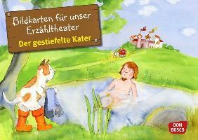 Cover-Bild zu Bildkarten für unser Erzähltheater: Der gestiefelte Kater von Grimm, Brüder