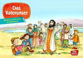 Cover-Bild zu Bildkarten für unser Erzähltheater: Das Vaterunser von Badel, Christian (Illustr.)