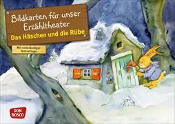 Cover-Bild zu Das Häschen und die Rübe von Lefin, Petra (Illustr.)