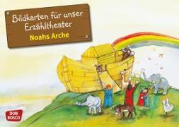 Cover-Bild zu Bildkarten für unser Erzähltheater: Noahs Arche von Lefin, Petra (Illustr.)