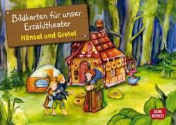 Cover-Bild zu Bildkarten für unser Erzähltheater: Hänsel und Gretel von Lefin, Petra (Illustr.)