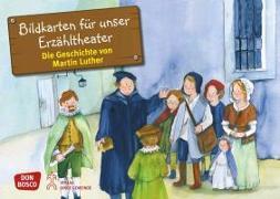 Cover-Bild zu Bildkarten für unser Erzähltheater: Die Geschichte von Martin Luther von Brandt, Susanne