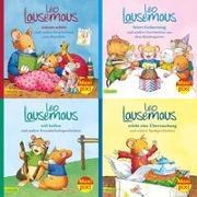 Cover-Bild zu Maxi-Pixi-Box 80: Meine liebsten Geschichten von Leo Lausemaus (4x5 Exemplare) von Campanella, Marco (Illustr.)
