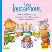 Cover-Bild zu Maxi Pixi 322: VE 5 Leo Lausemaus feiert Geburtstag (5 Exemplare) von Campanella, Marco (Illustr.)