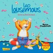 Cover-Bild zu VE 5 Leo Lausemaus lernt schwimmen (5 Exemplare) von Casalis, Anna