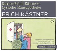Cover-Bild zu Doktor Erich Kästners lyrische Hausapotheke. CD von Kästner, Erich