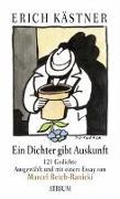 Cover-Bild zu Ein Dichter gibt Auskunft von Kästner, Erich