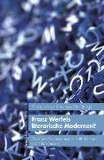 Cover-Bild zu Franz Werfels literarische Modernen? von Voß, Thorsten (Hrsg.)