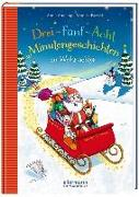 Cover-Bild zu 3-5-8 Minutengeschichten zu Weihnachten von Ameling, Anne