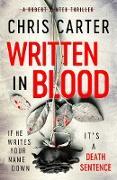 Cover-Bild zu Written in Blood (eBook) von Carter, Chris