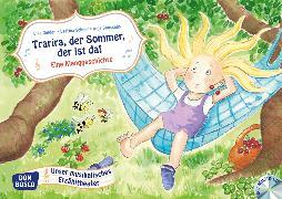 Cover-Bild zu Trarira, der Sommer, der ist da! Kamishibai Bildkartenset von Gulden, Elke