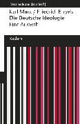 Cover-Bild zu Die Deutsche Ideologie (eBook) von Engels, Friedrich