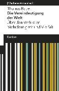 Cover-Bild zu Die Vereindeutigung der Welt (eBook) von Bauer, Thomas