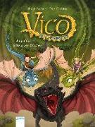 Cover-Bild zu Vico Drachenbruder / Vico Drachenbruder (2). Angriff des schwarzen Drachen von Pautsch, Oliver