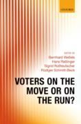 Cover-Bild zu Voters on the Move or on the Run? (eBook) von Weßels, Bernhard (Hrsg.)