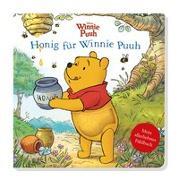 Cover-Bild zu Disney Winnie Puuh: Honig für Winnie Puuh - Mein allerliebstes Fühlbuch von Miller, Sara F.