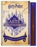 Cover-Bild zu Aus den Filmen zu Harry Potter: Die Karte des Rumtreibers - Eine Reise durch Hogwarts von Pascal, Erinn