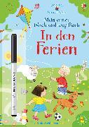 Cover-Bild zu Nina und Jan - Mein erstes Wisch-und-weg-Buch: In den Ferien von Taplin, Sam