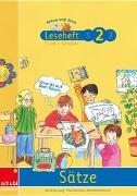 Cover-Bild zu Anton und Zora / Leseheft 2: Sätze von Jockweg, Bernd