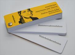 Cover-Bild zu Wortfächer Andrea Maria Keller. Juckreizwörter von Keller, Andrea Maria