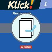 Cover-Bild zu Klick! Mathematik 1. Schuljahr. Handreichungen für den Unterricht, Kopiervorlagen mit CD-ROM von Burkhart, Silke