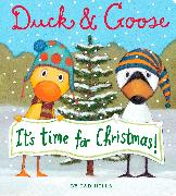 Cover-Bild zu Hills, Tad: Duck & Goose, It's Time for Christmas! (Oversized Board Book)