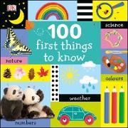 Cover-Bild zu eBook 100 First Things to Know