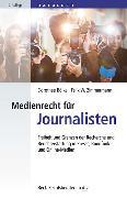 Cover-Bild zu Presse- und Medienrecht für Journalisten