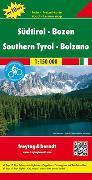 Cover-Bild zu Südtirol - Bozen, Autokarte 1:150.000, Top 10 Tips. 1:150'000