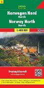 Cover-Bild zu Norwegen Nord - Narvik, Autokarte 1:400.000. 1:400'000
