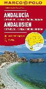 Cover-Bild zu Andalusien, Costa del Sol, Sevilla, Cordoba, Granada 1:200 000. 1:200'000