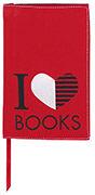 Cover-Bild zu libri_x Buchumschlag I love BOOKS / Grösse L