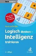 Cover-Bild zu Logisch denken - Intelligenz trainieren