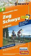 Cover-Bild zu Zug Schwyz Mountainbike-Karte Nr. 3, 1:50 000. 1:50'000