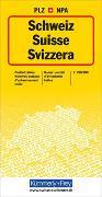 Cover-Bild zu Schweiz Postleitzahlenkarte. 1:260'000