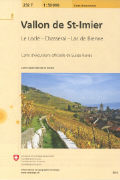 Cover-Bild zu Vallon de St. Imier. 1:50'000